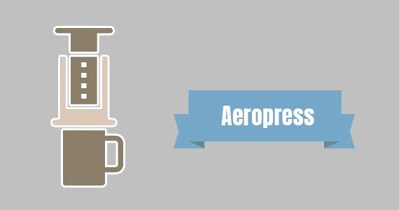 Método de preparo Aeropress