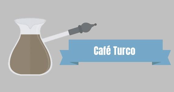 Método de preparo Café Turco