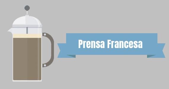 Método de preparo Prensa francesa