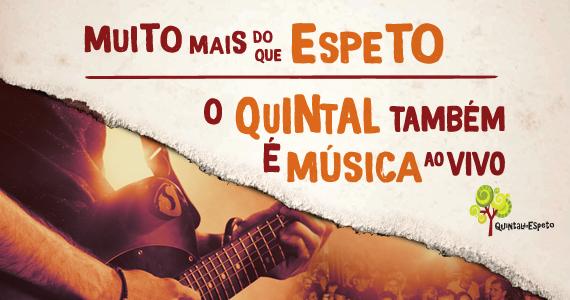 O Quintal Também é Música ao Vivo  Eventos BaresSP 570x300 imagem