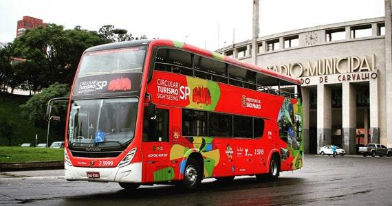 Ônibus de turismo com vista panorâmica começa circular em São Paulo Eventos BaresSP 570x300 imagem