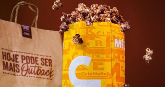 Cinemark lança pipoca em parceria com Outback  Eventos BaresSP 570x300 imagem