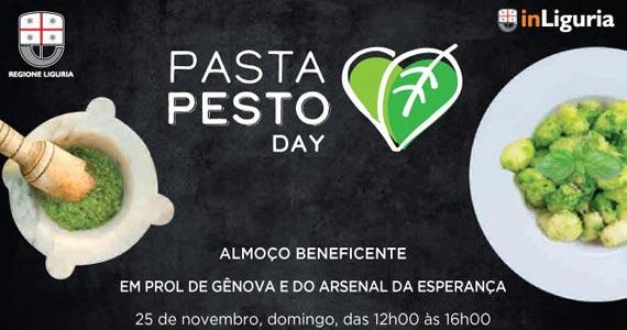 Semana da Culinária Italiana apresenta o Pasta Pesto Day como ação solidária em prol do desastre em Gênova Eventos BaresSP 570x300 imagem