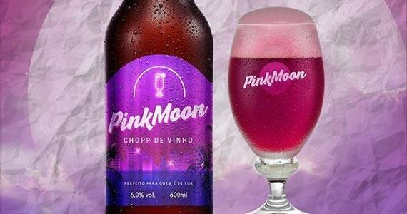 Arbor Brasil apresenta a nova Pink Moon, bebida que harmoniza chopp e vinho Eventos BaresSP 570x300 imagem