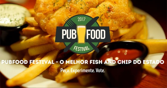 Pub Food Festival - Os maiores pubs de São Paulo disputam o título de melhor Fish and Chip Eventos BaresSP 570x300 imagem