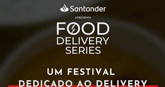 Santander lança o festival de gastronomia Food Delivery Series Eventos BaresSP 570x300 imagem