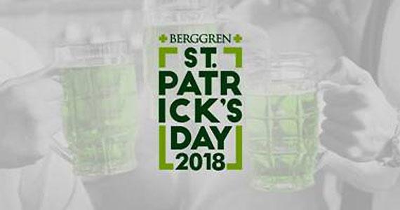"""Chope verde será destaque da festa """"ST.Patrick's Day"""" promovida pela Berggren no interior de SP Eventos BaresSP 570x300 imagem"""