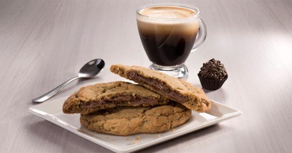 A rede Starbucks desenvolveu especialmente para o cardápio brasileiro, Cookie com Nutella Eventos BaresSP 570x300 imagem