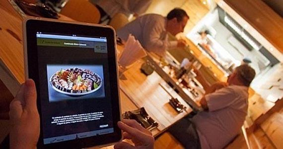Tablet-garçom, robô-sushiman e sorvete a um clique: tecnologias apresentadas em SP trazem autonomia para bares, restaurantes e clientes Eventos BaresSP 570x300 imagem
