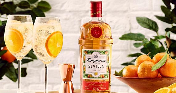 Diageo Brasil anuncia a chegada da nova bebida Tanqueray Flor de Sevilla no país Eventos BaresSP 570x300 imagem