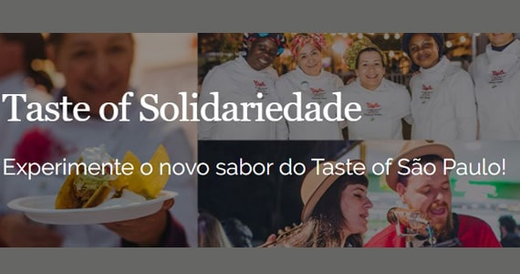 Taste of Solidariedade do Taste