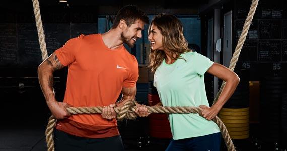 Dia dos Namorados com treino de casal especial com a Centauro BaresSP