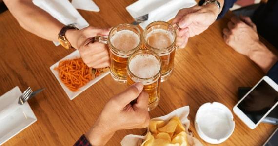 Drinks com cerveja