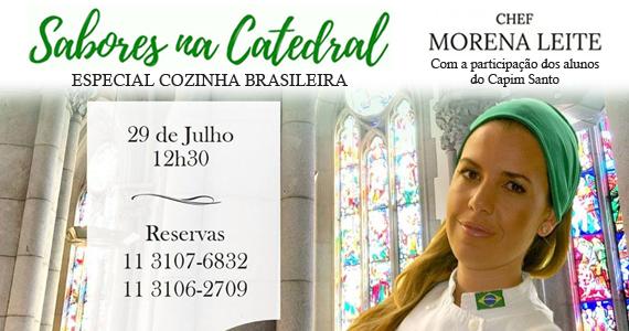 Catedral da Sé recebe Sabores na Catedral com a chef Morena Leite Eventos BaresSP 570x300 imagem