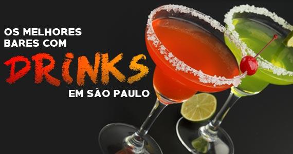 Os melhores bares com drinks em São Paulo  Eventos BaresSP 570x300 imagem