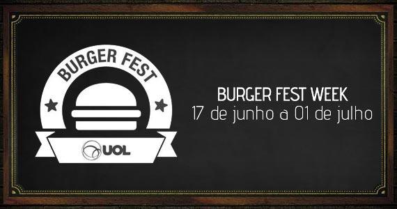 Vejas todos os hambúrgueres participantes do SP Burger Fest BaresSP