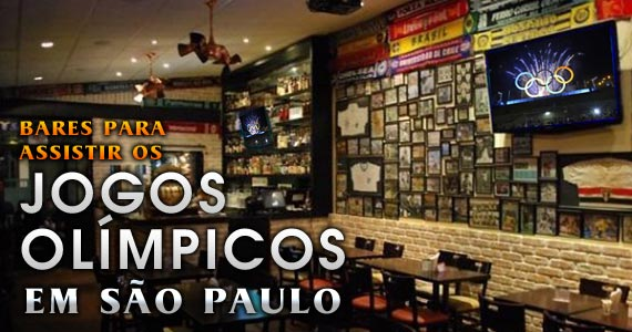 Bares para assistir os Jogos Olímpicos em São Paulo Eventos BaresSP 570x300 imagem