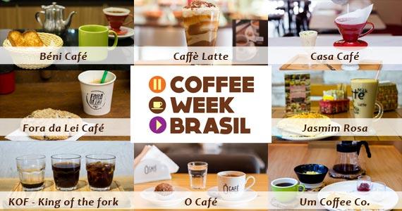 Confira os participantes da 5ª edição do Coffee Week em São Paulo BaresSP