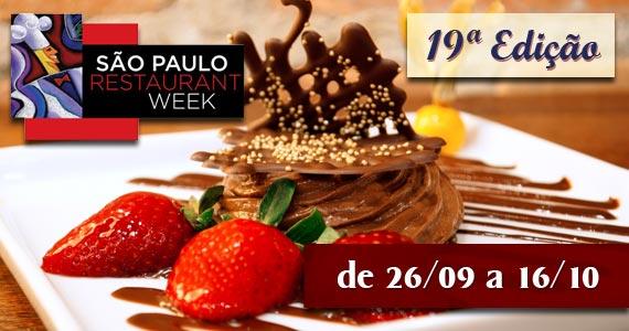 Confira alguns menus do Restaurant Week São Paulo BaresSP