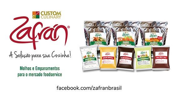 Zafrán® traz uma ampla variedade de sabores e texturas através de molhos, empanhados e produtos culinários Eventos BaresSP 570x300 imagem