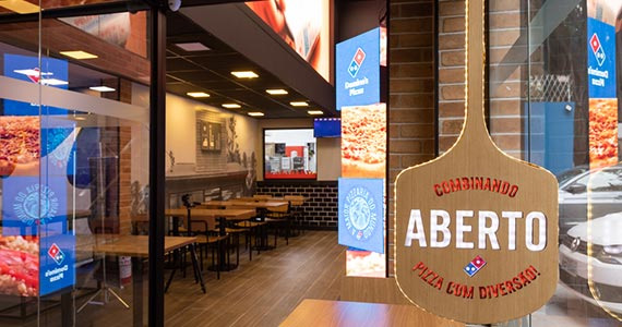 Domino's Pizza inaugura primeira Domino's Lab em São Paulo Eventos BaresSP 570x300 imagem