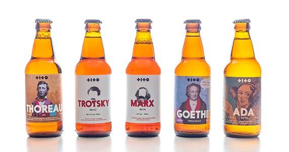 Cervejaria artesanal Titobier combina suas cervejas com personagens que fizeram história Eventos BaresSP 570x300 imagem