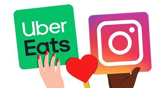 Uber Eats lança stories no app em parceria com o Instagram Eventos BaresSP 570x300 imagem
