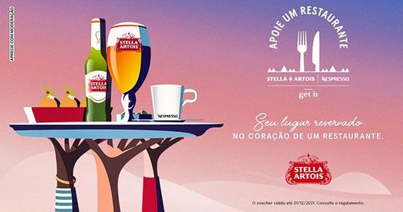 Apoie Um Restaurante: movimento da Stella Artois volta para ajudar estabelecimentos afetados pela crise Eventos BaresSP 570x300 imagem