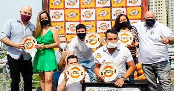 Ganhadores do Comida di Buteco 2021 de São Paulo fazem a festa na premiação Eventos BaresSP 570x300 imagem
