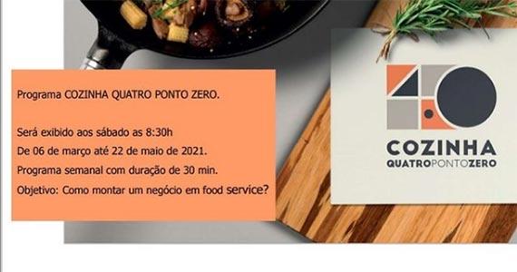 Reality show Cozinha Quatro Ponto Zero estreia na Band  Eventos BaresSP 570x300 imagem