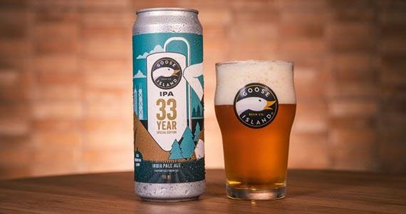 Goose Island apresenta cerveja IPA em comemoração aos seus 33 anos de história Eventos BaresSP 570x300 imagem