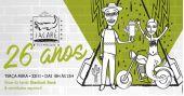 """O casal Marcelo """"Jacaré� e Cintia, donos do Jacaré Grill, comemoraram 26 anos do estabelecimento com grande festa 24/11/2016 /barreporter/thumbs2/jacare26anos.jpg"""