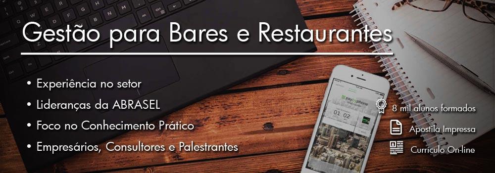 Curso de Gestão para Bares e Restaurantes