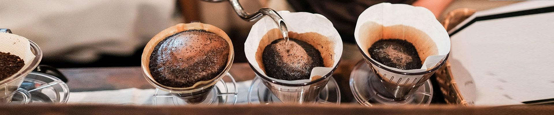 Curso de Métodos de Preparo de Café para Cafeterias