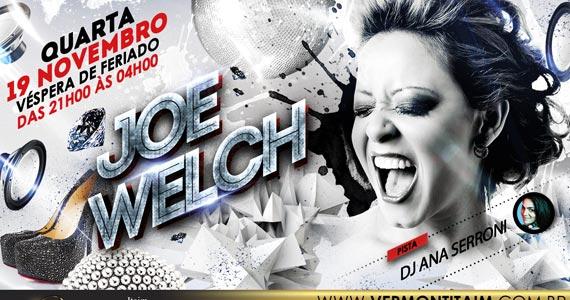 Cantora Joe Welch e DJ Ana Serroni se apresentam nesta quarta-feira no Vermont Itaim Eventos BaresSP 570x300 imagem