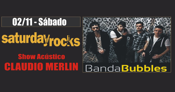 Claudio Merlin e Banda Bubbles tocam rock no sábado do Republic Pub Eventos BaresSP 570x300 imagem