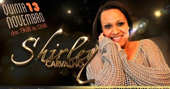 Shirley Carvalho se apresenta no palco do Vermont na quinta-feira Eventos BaresSP 570x300 imagem
