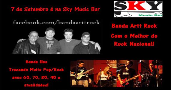 Banda Artt Rock e Banda Has se apresentam no Sky Music Bar no sábado Eventos BaresSP 570x300 imagem