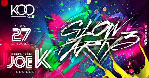 Koo Club recebe 3ª edição da festa Glow Party para animar a sexta-feira Eventos BaresSP 570x300 imagem