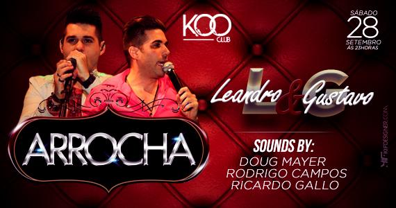 Koo Club recebe festa Arrocha com dupla Leandro e Gustavo animando o sábado Eventos BaresSP 570x300 imagem
