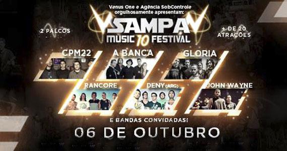 Espaço Victory recebe grandes nomes do rock na 10ª edição do Sampa Music Festival Eventos BaresSP 570x300 imagem