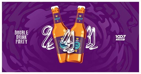Festa Double Drink Party promete animar a balada 1007 no sábado Eventos BaresSP 570x300 imagem