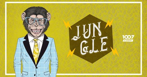 Festa Jungle agita a 1007 - Augusta na sexta-feira Eventos BaresSP 570x300 imagem