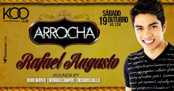 Festa Arrocha com Rafael Augusto agita a noite de sábado da Koo Club Eventos BaresSP 570x300 imagem