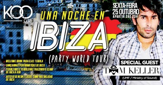 DJ Tom Keller esquenta a noite da festa Una Noche En Ibiza na Koo Club Eventos BaresSP 570x300 imagem