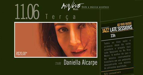 Noite de MPB com a cantora Daniella Alcarpe e Tiê Alves embalam a noite do Ao Vivo Music nesta terça Eventos BaresSP 570x300 imagem