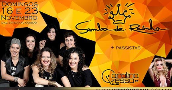 Samba de Rainha e Carolina Lessa se apresentam no Vermont  Eventos BaresSP 570x300 imagem