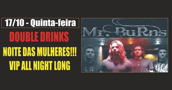 Banda Mr. Burns agita a noite com rock na quinta-feira do Republic Pub Eventos BaresSP 570x300 imagem