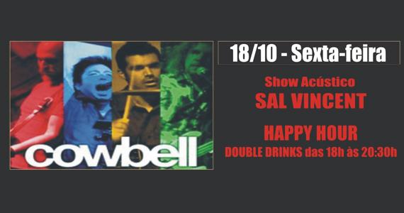 Sal Vincent & Banda Cowbell levam rock para a sexta-feira do Republic Pub - Noite Red Label Eventos BaresSP 570x300 imagem