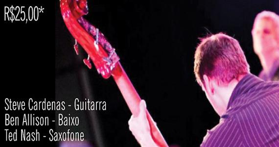 Ben Allison apresenta o melhor do jazz internacional no Ao Vivo Music Eventos BaresSP 570x300 imagem